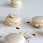 Almond macarons with almond buttercream